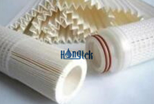 Pleated Length Controlled