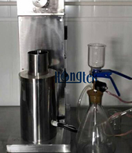 Filter material dissolubility testing
