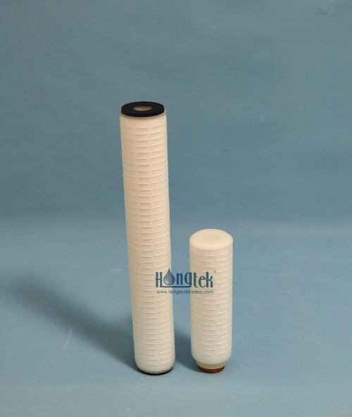 EPT Series Hydrophobic PTFE Membrane Pleated Cartridges