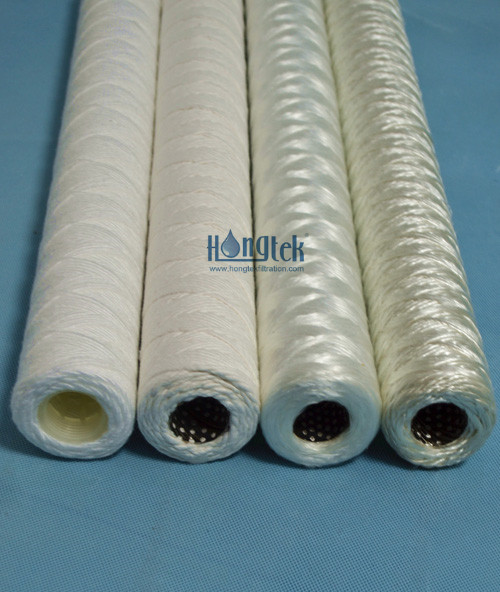 ESW Series String Wound Cartridge Filters For Power Plant Water Treatment