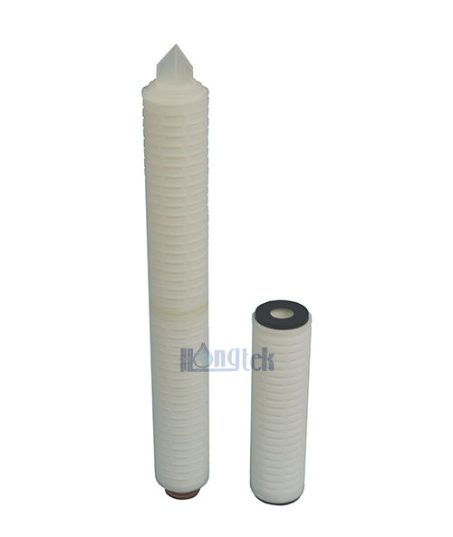 HPT Series Hydrophilic PTFE Membrane Pleated Filters
