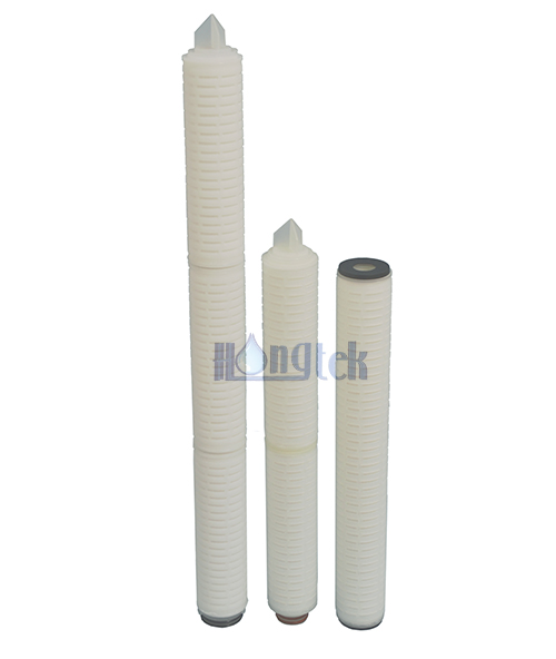 GFM Series Glass Fiber Membrane Pleated Cartridge Filters