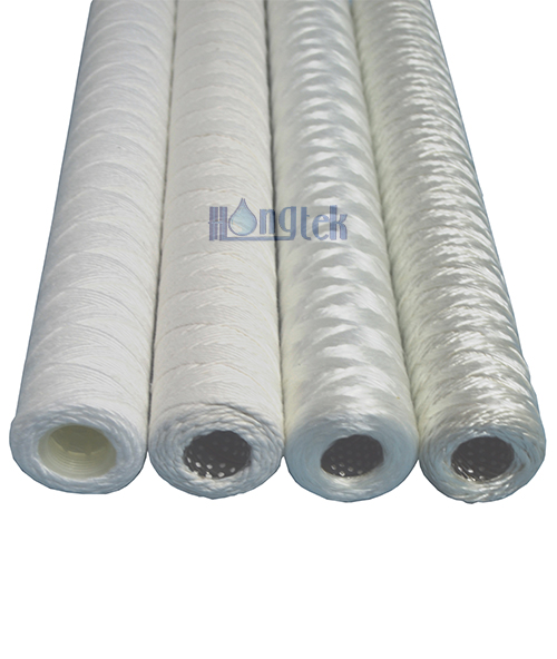 FSW Series Glass Fiber Wound Yarn Cartridge Filters