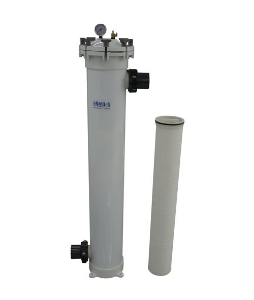 VRP Series Vertical Single FRP High Flow Filter Housing